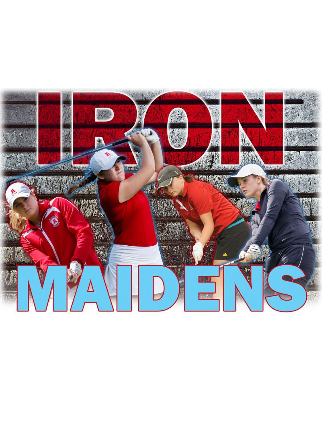 The Arrowhead girls golf team won the 2016 state championship