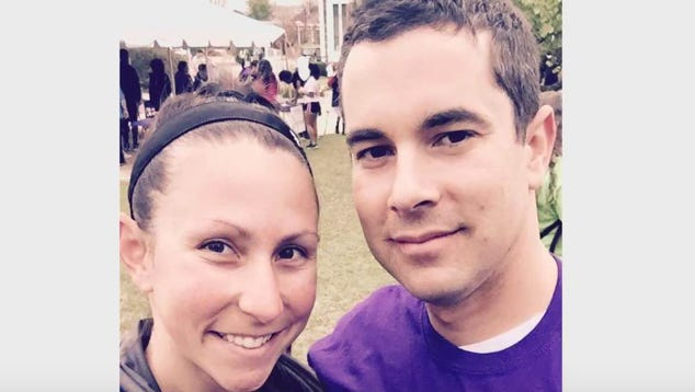 Hannah and Tristan Ambrozewski, both of whom served in Iraq, will use a $125,000 grant and an additional $125,000 loan as start-up capital to open an Anytime Fitness gym near Fort Bragg in Fayetteville, NC.