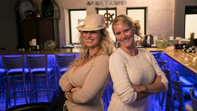 Sisters Caroline and Jacqueline Rusher opened the Kava Culture Kava Bar in downtown Fort Myers at the end of December.