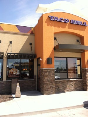 Taco Bell is opening three new stores in the metro this year.