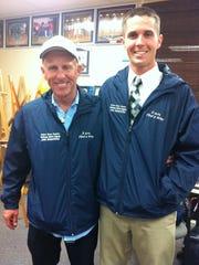 Estero cross country coaches Ben Pignatone and Jeff
