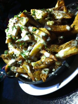 Trend Kitchen's fries ($12) are unlike any others in the area.
