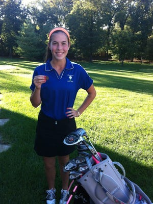 Greenwood golfer Meredith Sharp is a two-time state championship tournament qualifier.