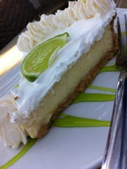 Key Lime Pie from Rusty's at Port Canaveral
