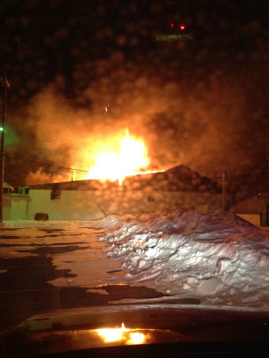 WSD church fire