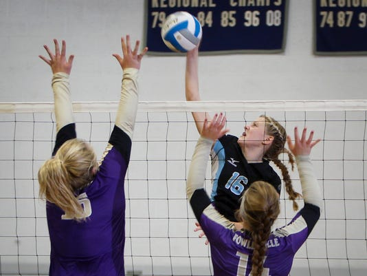 Lansing Catholic vs. Fowlerville - Volleyball