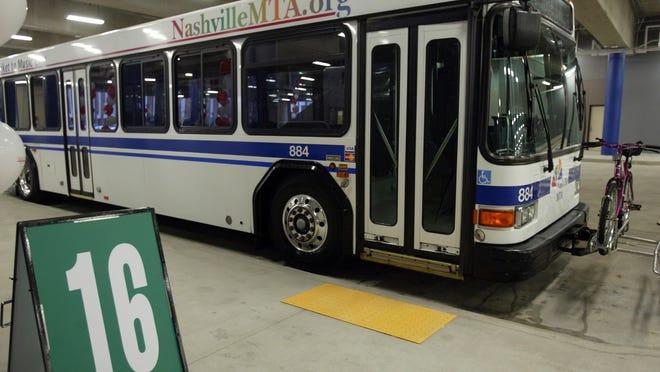 Nashville MTA bus (File / The Tennessean)