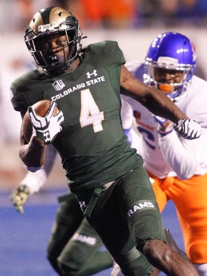 In his first year with CSU after two seasons of junior-college football, Michael Gallup put together one of the best seasons ever by a Rams receiver last fall with 76 catches for 1,272 yards and 19 touchdowns.