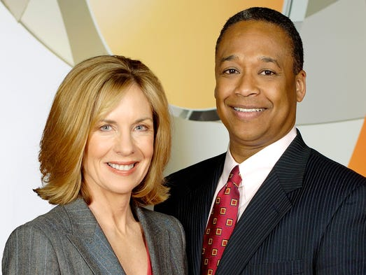 Carol Williams and Clyde Gray in 2005.