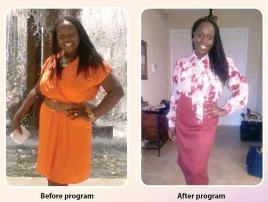 Yemisi Oloruntola-Coates before and after