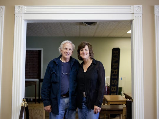 Owners Gary Kohs and Laura Scaccia, of St. Clair, pictured