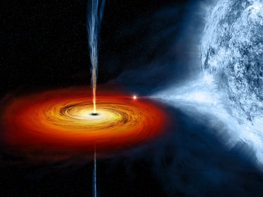 Cygnus X-1 is a so-called stellar-mass black hole, a class of black holes that comes from the collapse of a massive star.