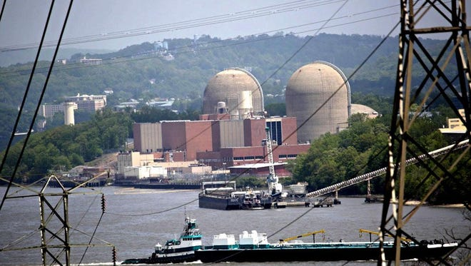 The Indian Point nuclear plant in Buchanan.