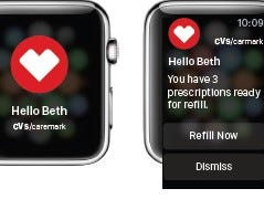 Apple Watch Integration improves access to prescription notifications.