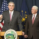 Former Indiana Republican Party Chairman Eric Holcomb is now running for Senate.