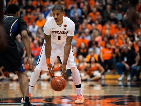NCAA Basketball: Washington at Oregon State