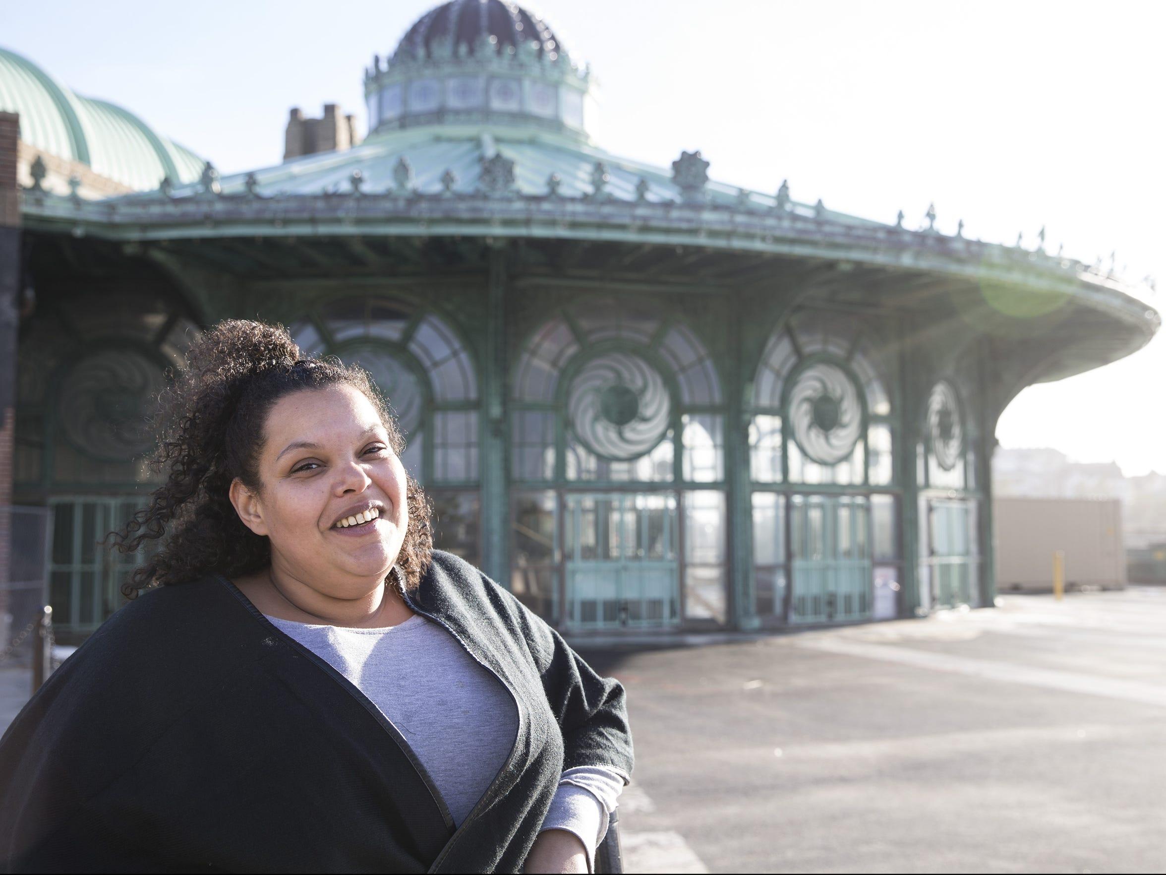 Jennifer Lewinski grew up on the east side, was forced
