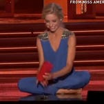 Miss America wins with 'happy cup' talent