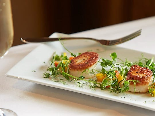 The Union House offers special wild game options such as kangaroo, quail and pheasant, but also serves up classics like steak and seafood, such as the scallops.