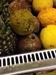 Breadfruit is just one of the periodic surprises found
