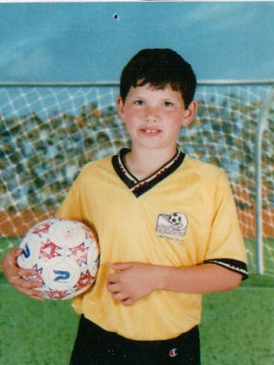 Growing up in London and Germany, soccer was Indianapolis Colts quarterback Andrew Luck's first love.