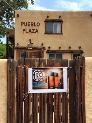 550 Brewing is one of the tenants of The Hub in Aztec.