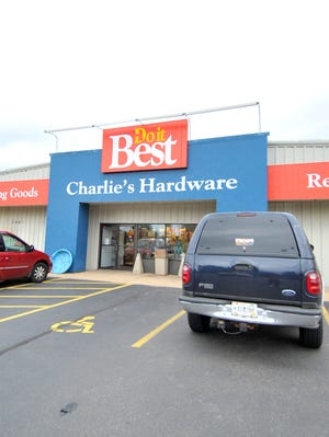 Charlie's Hardware store in Mosinee.