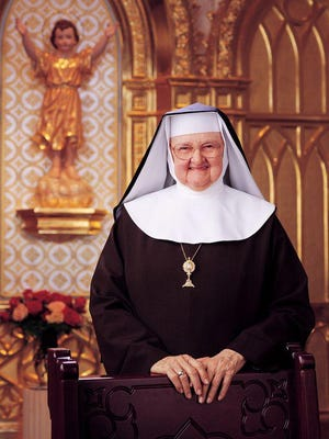 This undated photo provided by Eternal Word Television Network shows Mother Mary Angelica, who founded the EWTN channel in 1981. She died on Easter Sunday 2016 at age 92.