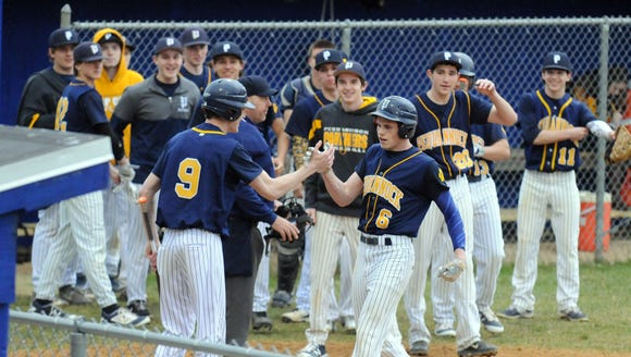 The Pequannock baseball team earned a share of this