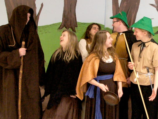 "Spend a little time with the Merry Men March 10-12, when Shalom Christian Academy presents ""Robin Hood: The Musical"""