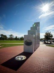 Veterans are memorialized on the on-site Anthem Veterans Memorial.