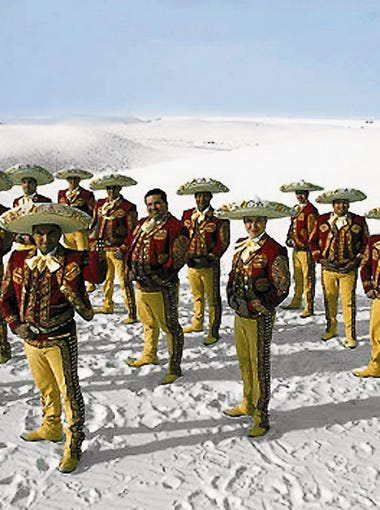 Mariachi Los Arrieros kicks off the Alfresco! Fridays 2017 concert series on May 5.