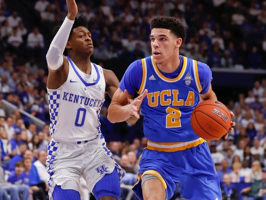 USP NCAA BASKETBALL: UCLA AT KENTUCKY S BKC USA KY