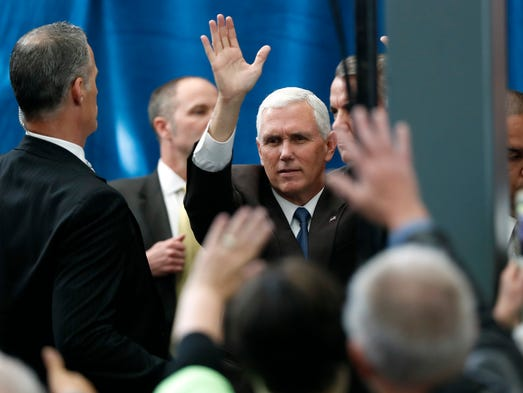 Pence to campaign in Iowa Thursday