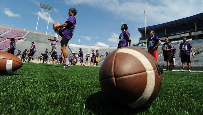 NSU football camp