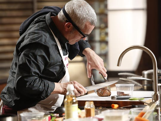 """Contestant Stephen Lee, from Palm Springs, is seen here in the most recent episode of """"MasterChef"""" on FOX."""