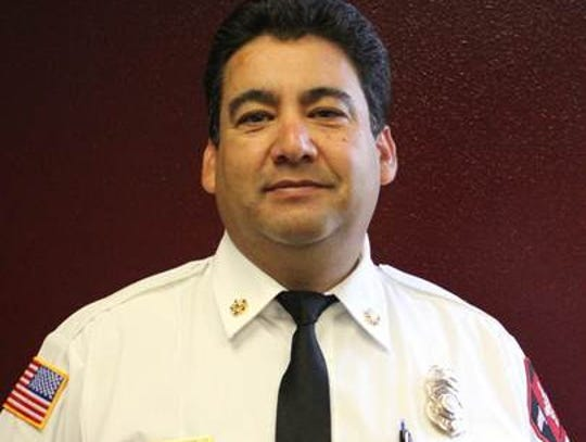 New Mexico State University Fire Chief Johnny Carrillo.