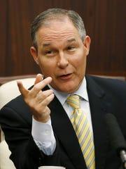 President Donald Trump's nominee to head the EPA, Oklahoma