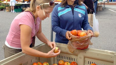 Farmington officials are considering adding a Wednesday farmers market to the established Saturday market program this year.
