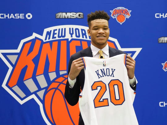 The New York Knicks used their first round NBA Draft