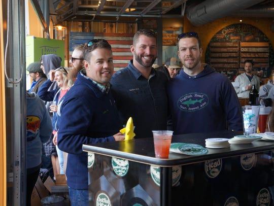 Jason King, Matt Funk and Dan Ryan of Dogfish Head