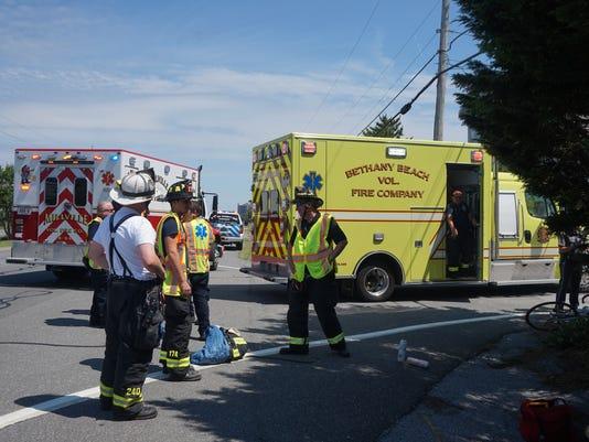 Bethany Beach bike accident