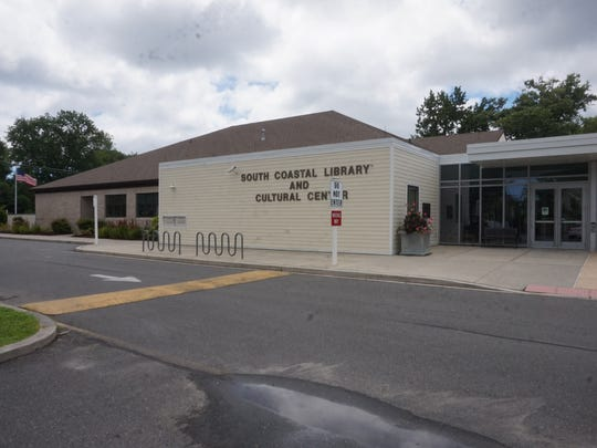 South Coastal Library in Bethany Beach, site of one of four cooling stations set by Sussex County Administration