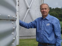 Jim Holte is a beef and grain farmer from Elk Mound and president of the Wisconsin Farm Bureau Federation.