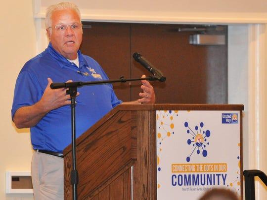 North Texas Area United Way Board member, Jack Browne
