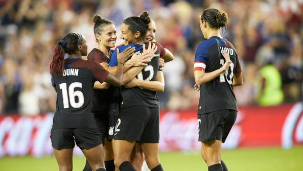 U.S. Women's Olympic Soccer Team forward Christen Press