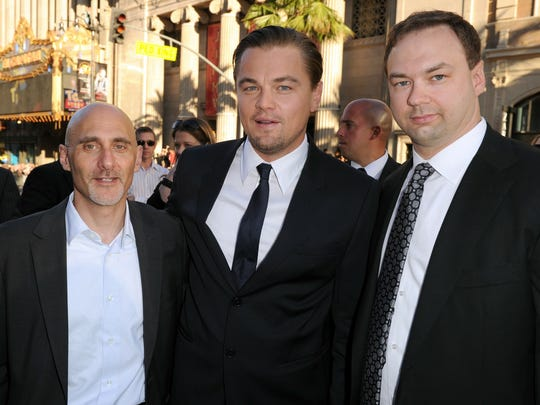 "Thomas Tull was executive producer of ""Inception,"""