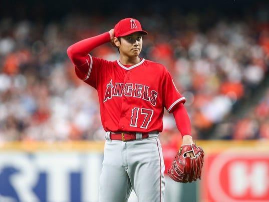 MLB: Los Angeles Angels in Houston Astros