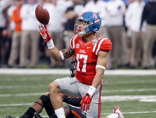 Ole Miss Evan Engram Confident In Rebels Receiver Depth