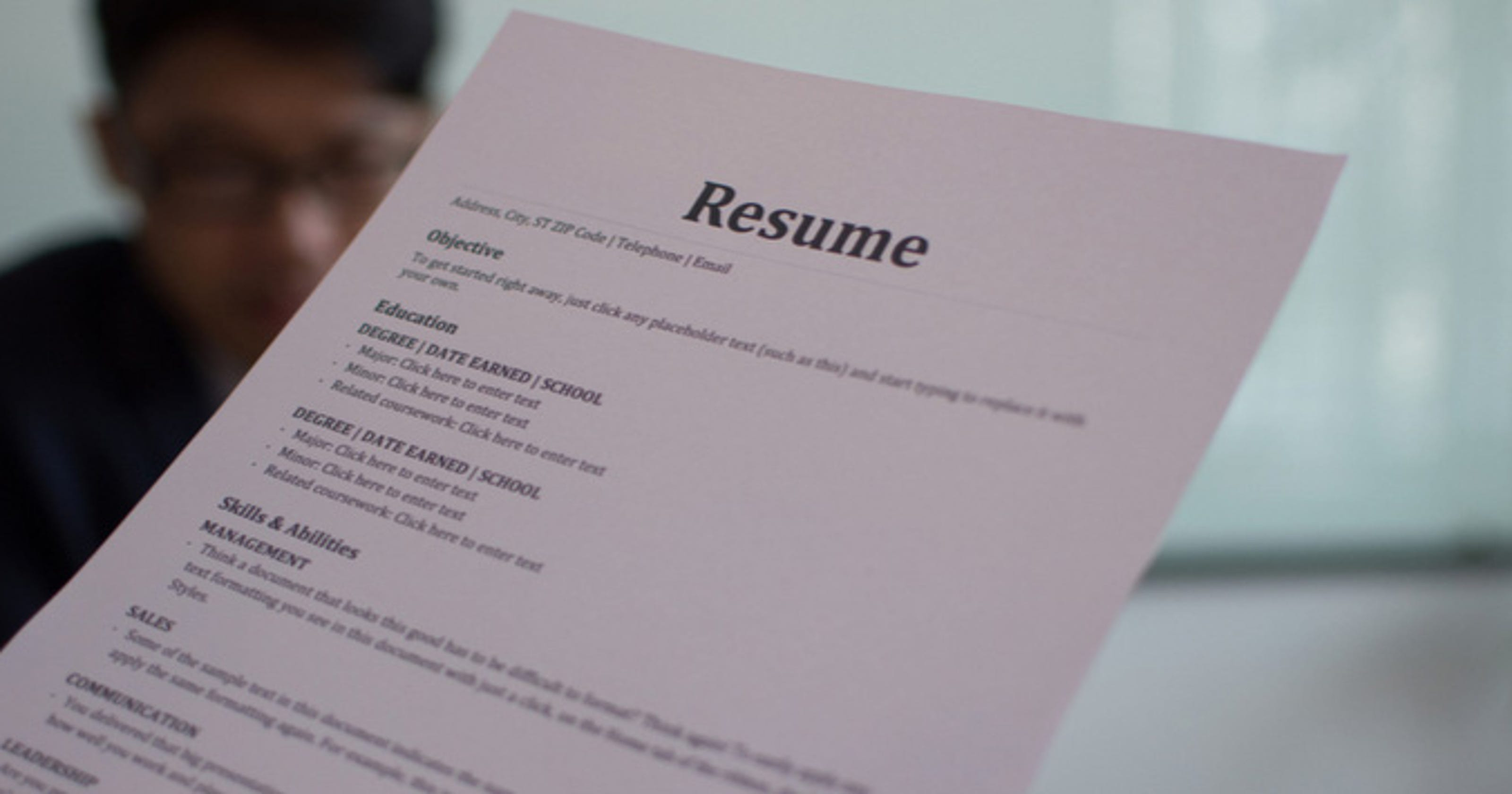 Job Search What Is The Difference Between A Resume And A